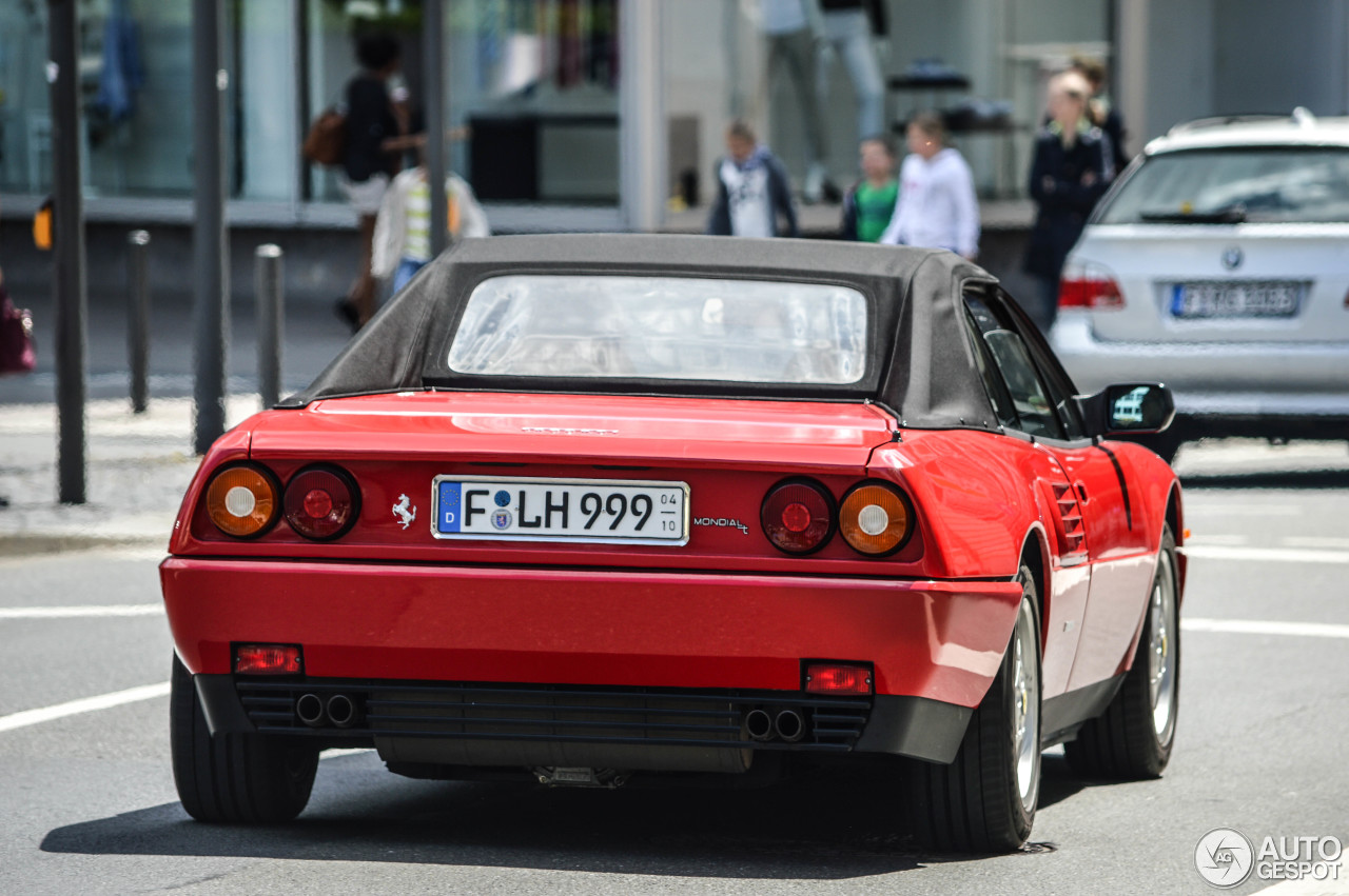 ferrari mondial t cabriolet 16 march 2015 autogespot. Black Bedroom Furniture Sets. Home Design Ideas
