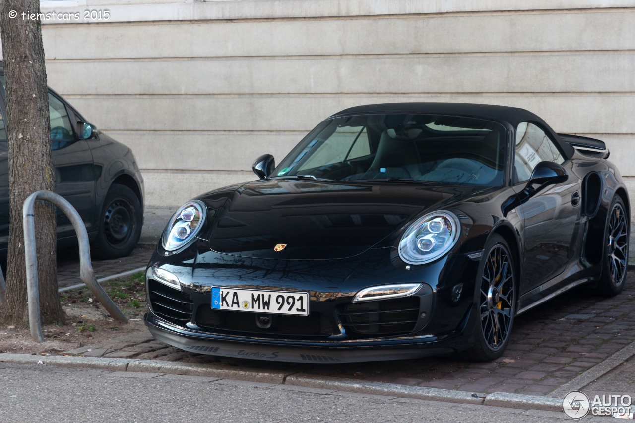 porsche 991 turbo s cabriolet 16 march 2015 autogespot. Black Bedroom Furniture Sets. Home Design Ideas