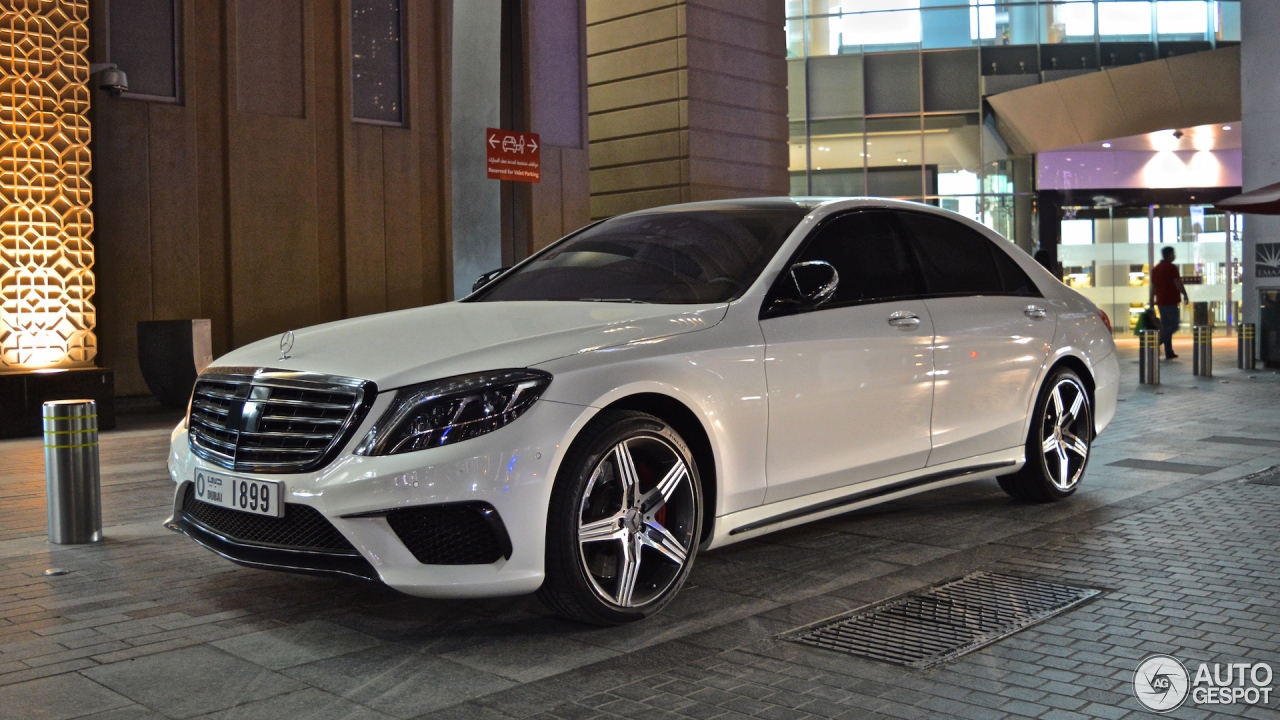 AMG S63 Conversion Body Kit for S-Class W222 | S - Class > W222 ...
