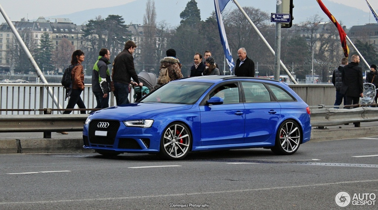 Audi Rs4 Avant B8 Nogaro Selection 19 March 2015