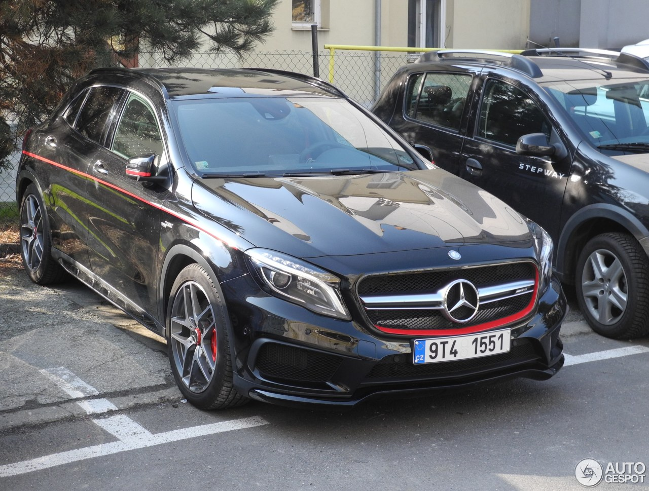 Mercedes benz gla 45 amg edition 1 19 march 2015 for Mercedes benz gla 45 amg for sale