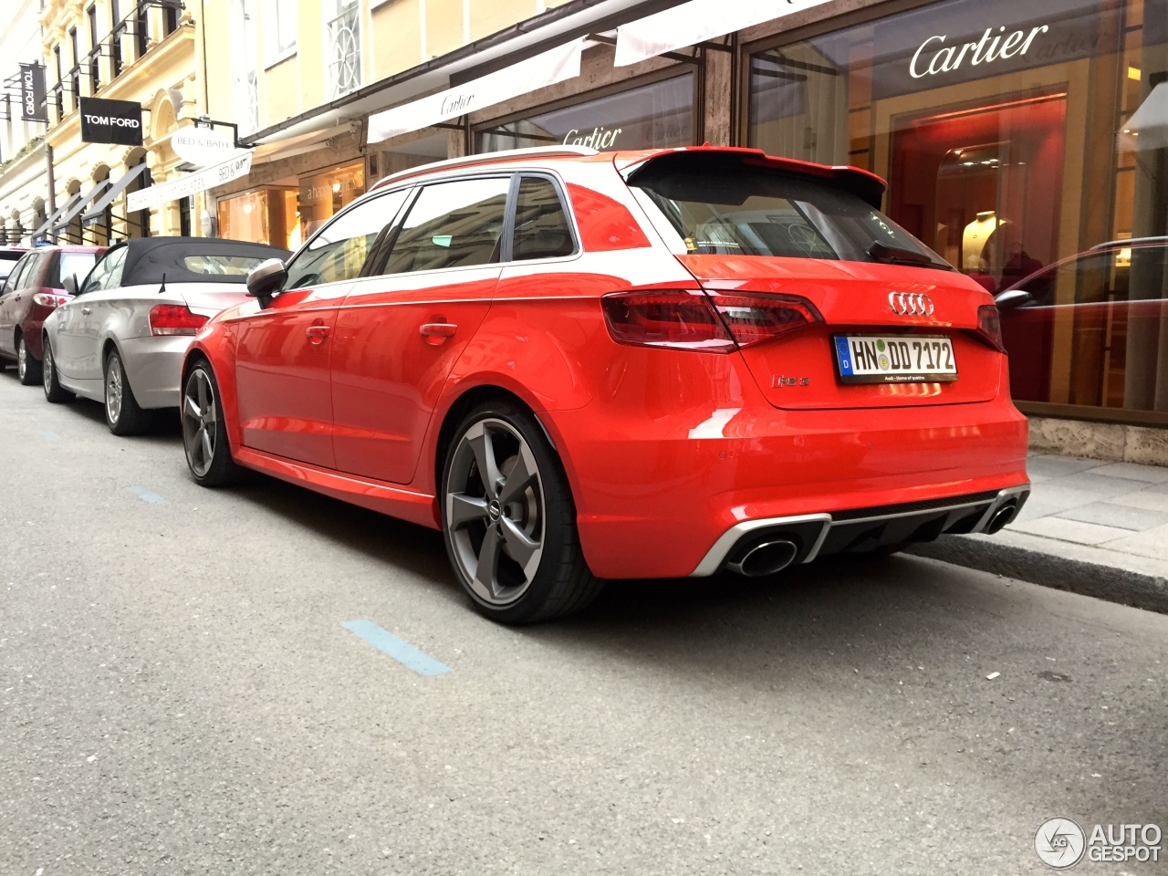 audi rs3 sportback 8v 21 march 2015 autogespot. Black Bedroom Furniture Sets. Home Design Ideas