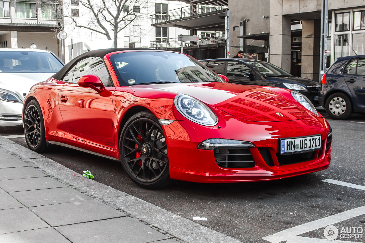 porsche 991 carrera 4 gts cabriolet 21 march 2015 autogespot. Black Bedroom Furniture Sets. Home Design Ideas