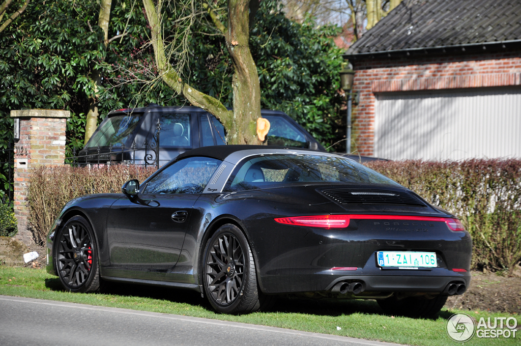 porsche 991 targa 4 gts 22 march 2015 autogespot. Black Bedroom Furniture Sets. Home Design Ideas