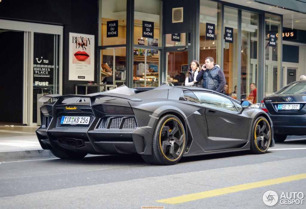 Lamborghini Mansory Aventador Lp1250 4 Carbonado Apertos