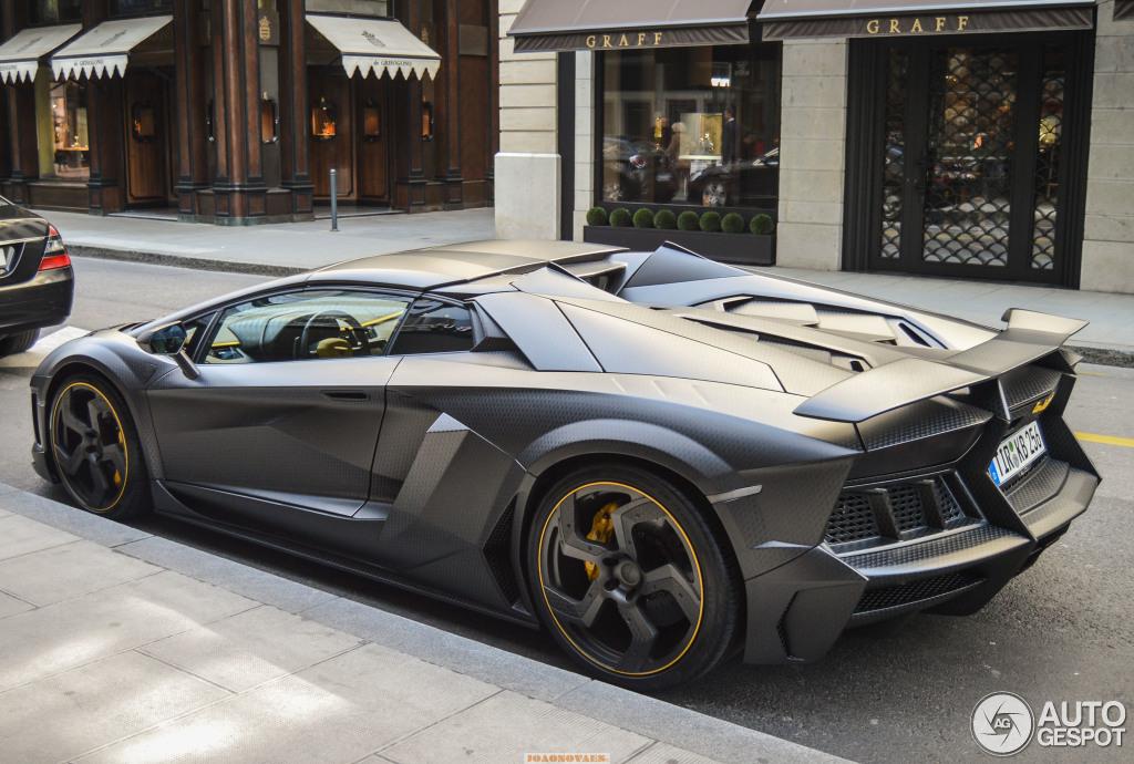 Lamborghini Mansory Aventador Lp1250 4 Carbonado Apertos Roadster 25 March 2015 Autogespot