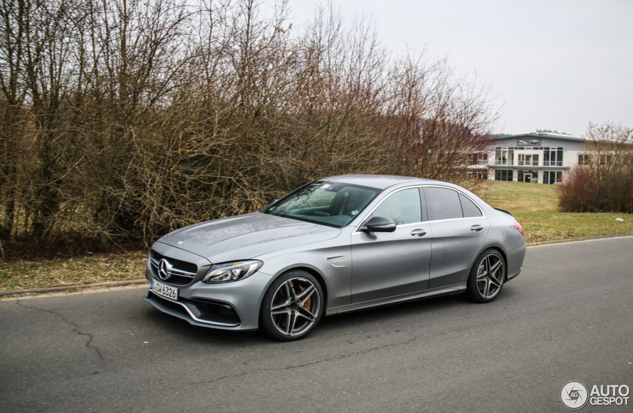 mercedes amg c 63 s w205 25 march 2015 autogespot. Black Bedroom Furniture Sets. Home Design Ideas
