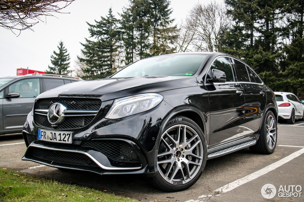 mercedes amg gle 63 coupe 25 march 2015 autogespot. Black Bedroom Furniture Sets. Home Design Ideas