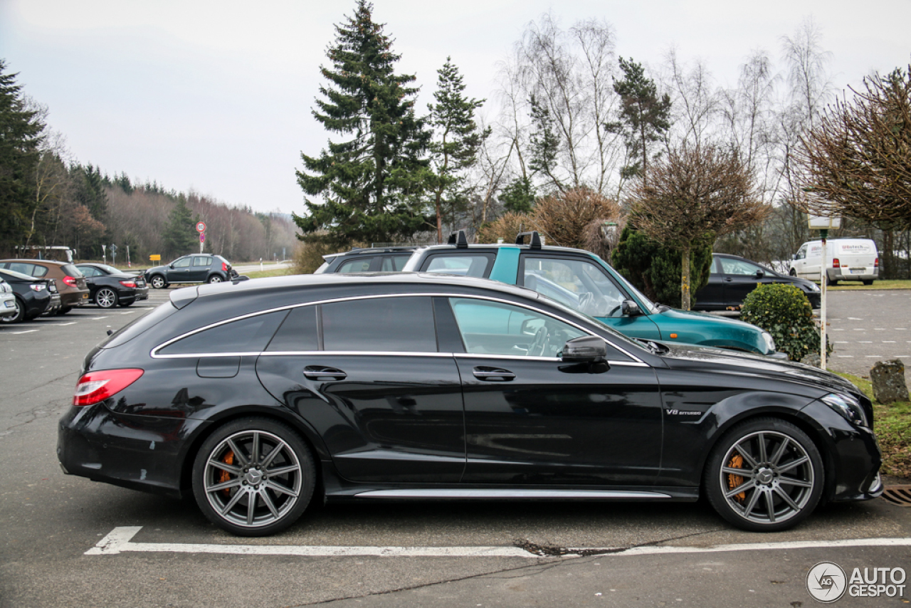 mercedes benz cls 63 amg x218 shooting brake 2015 25 mrz 2015 autogespot. Black Bedroom Furniture Sets. Home Design Ideas