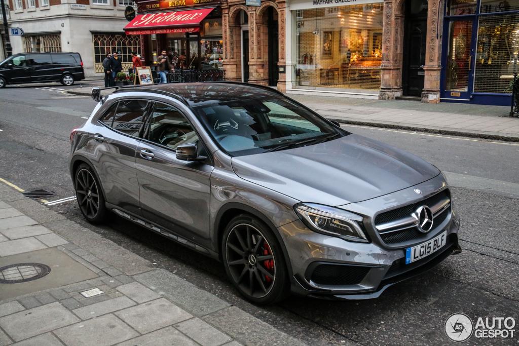 Mercedes benz gla 45 amg x156 25 march 2015 autogespot for 2015 mercedes benz gla
