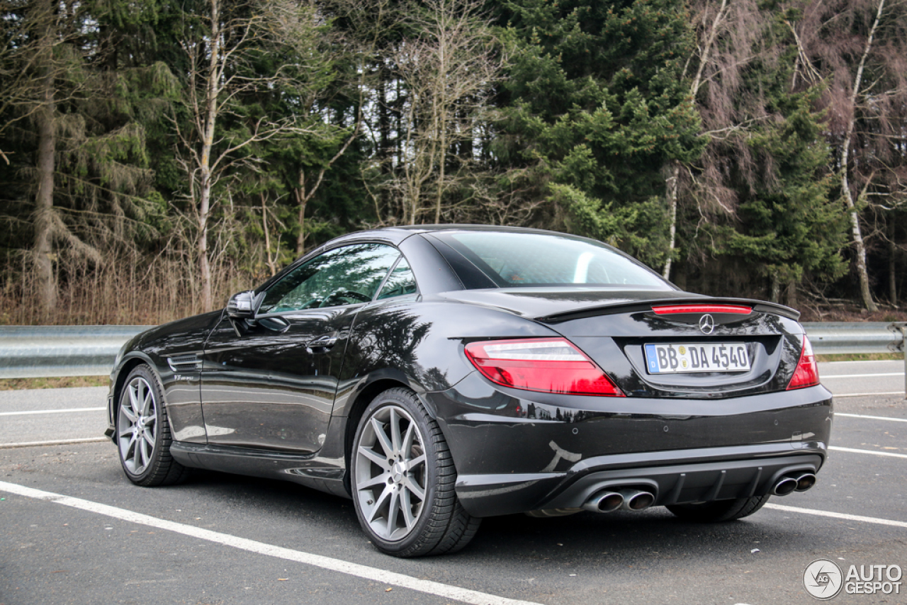 mercedes benz slk 55 amg r172 25 mrz 2015 autogespot. Black Bedroom Furniture Sets. Home Design Ideas