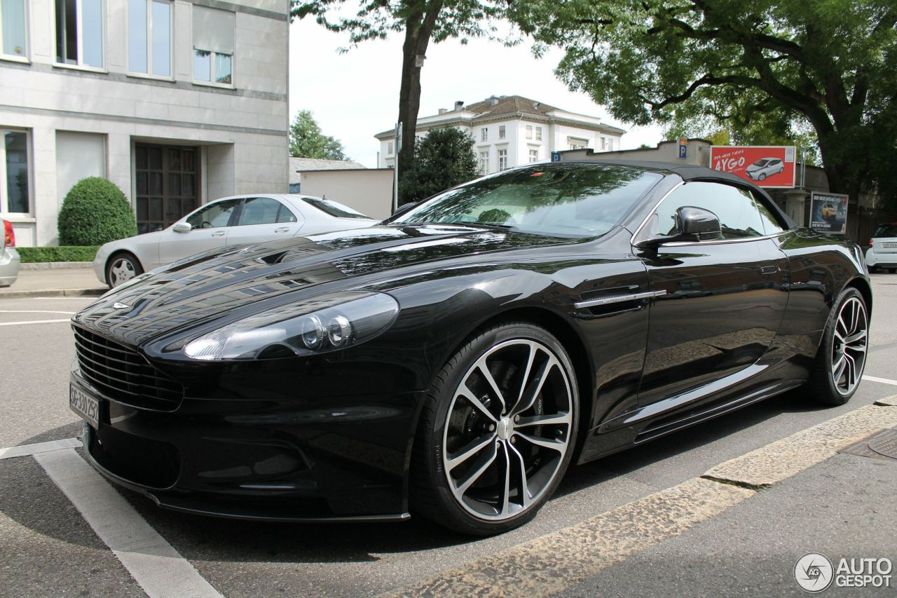 Aston Martin Dbs Volante Carbon Black Edition 26 March