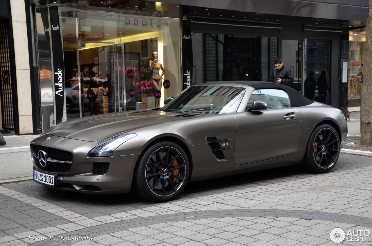 Sls Amg Roadster For Sale Sls Amg gt Roadster 1
