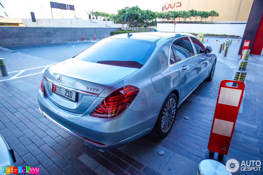 Mercedes Maybach S600 27 March 2015 Autogespot
