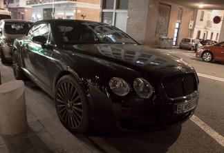Bentley contienental gtc