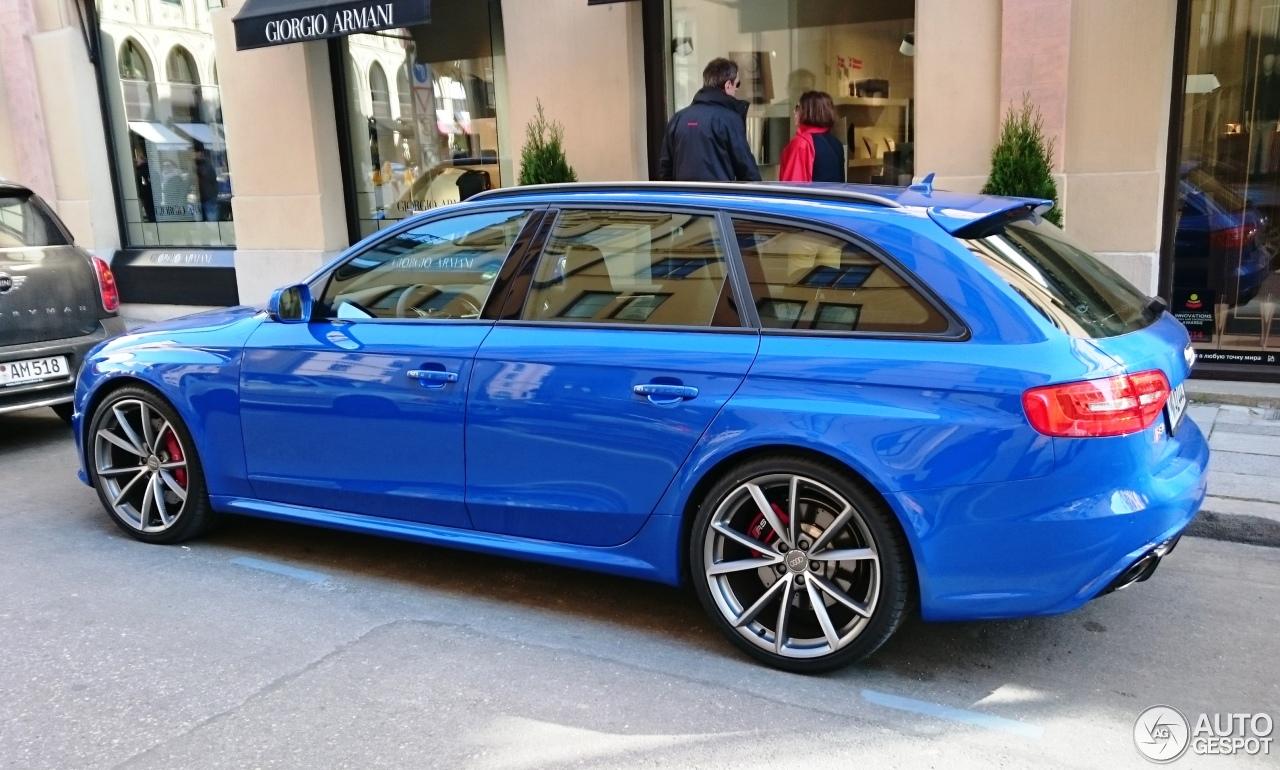 Audi Rs4 Avant B8 Nogaro Selection 28 March 2015