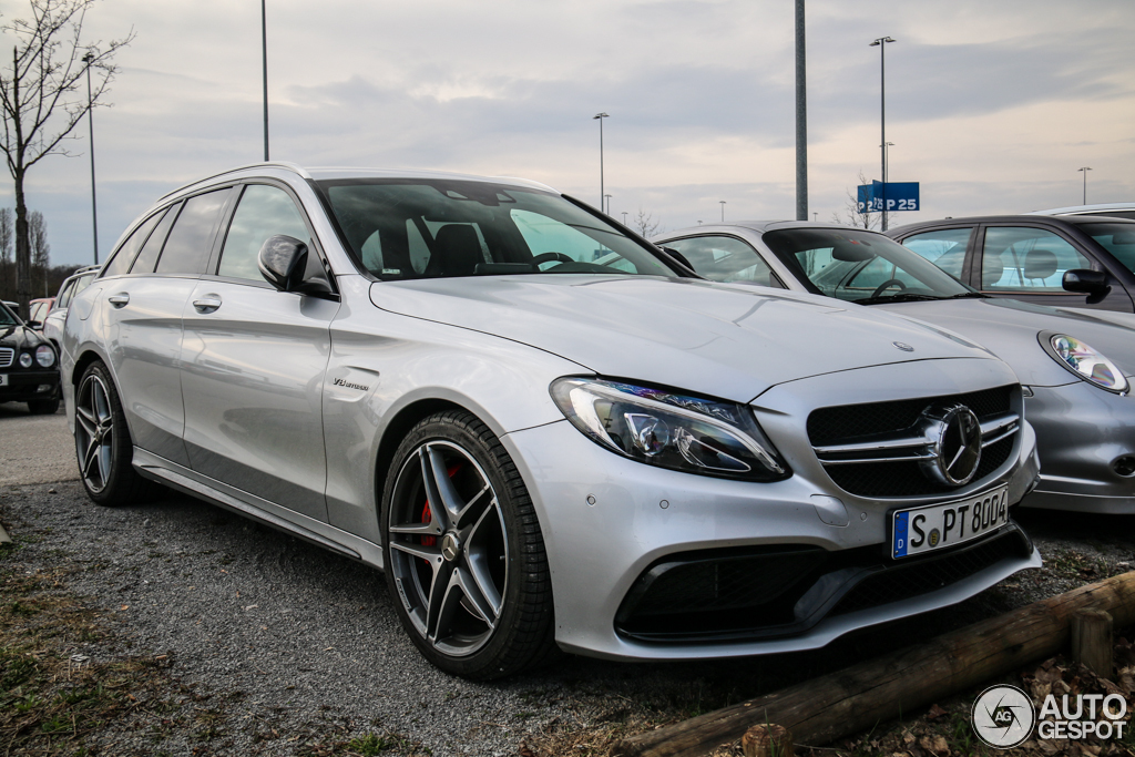 Mercedes Amg C 63 Estate S205 28 March 2015 Autogespot