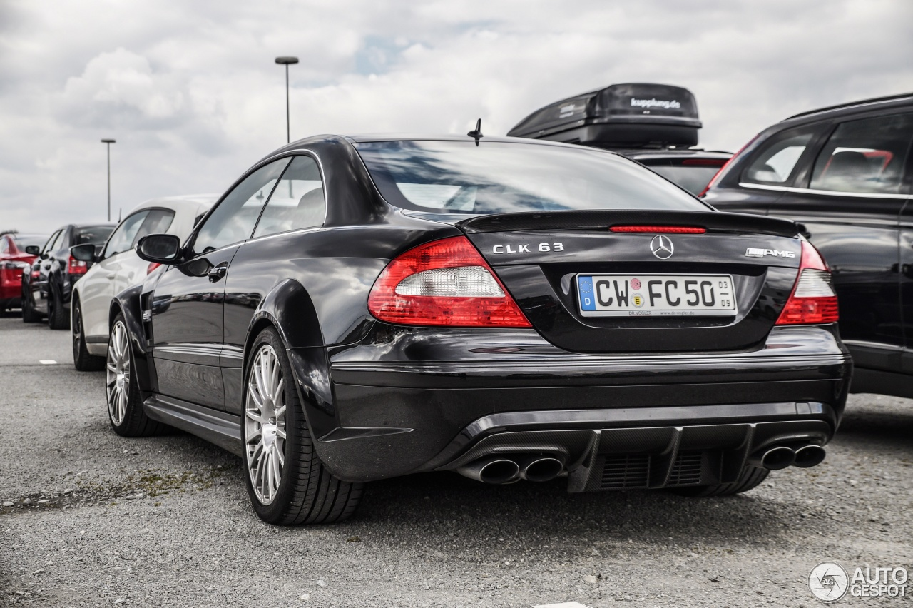 Mercedes benz clk 63 amg black series 28 march 2015 for Mercedes benz clk black series