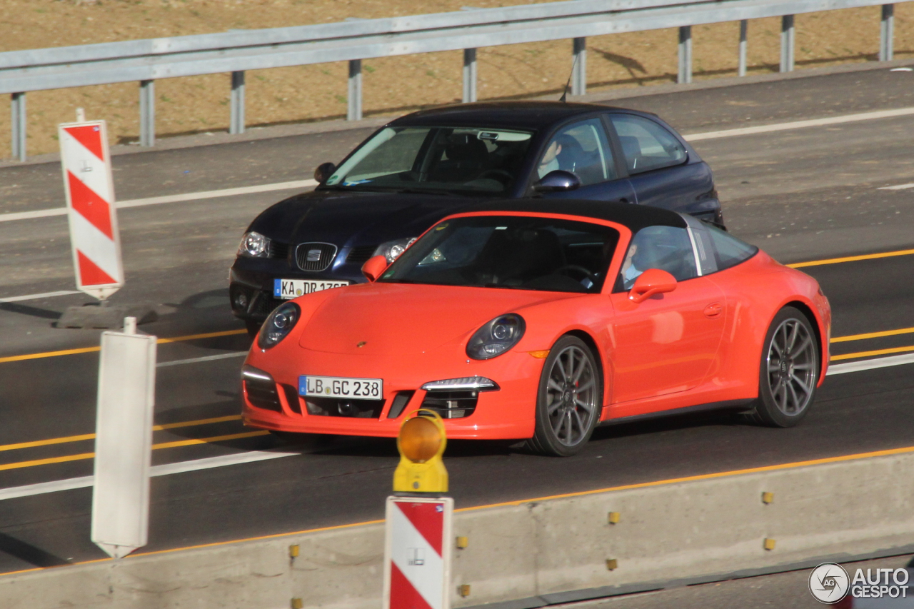 Porsche 991 Targa 4s 28 Mrz 2015 Autogespot