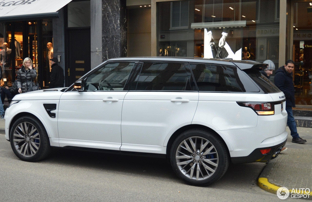 Land Rover Range Rover Sport SVR - 29 March 2015 - Autogespot