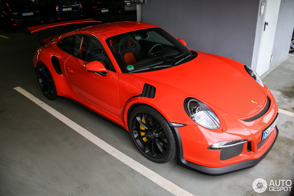 porsche 991 gt3 rs 29 mars 2015 autogespot. Black Bedroom Furniture Sets. Home Design Ideas