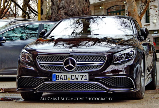 Mercedes-Benz S 65 AMG Coupe C217