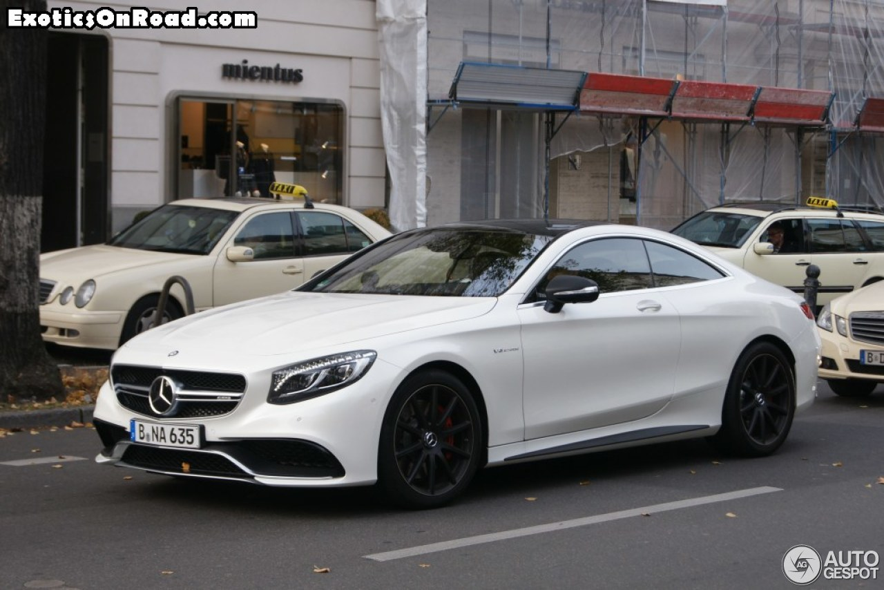 Mercedes benz s 63 amg coup c217 30 mrz 2015 autogespot for Mercedes benz in md