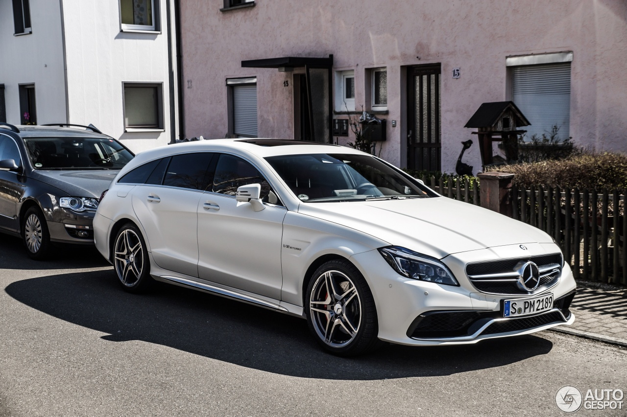 Mercedes Benz Cls 63 Amg S X218 Shooting Brake 2015 31