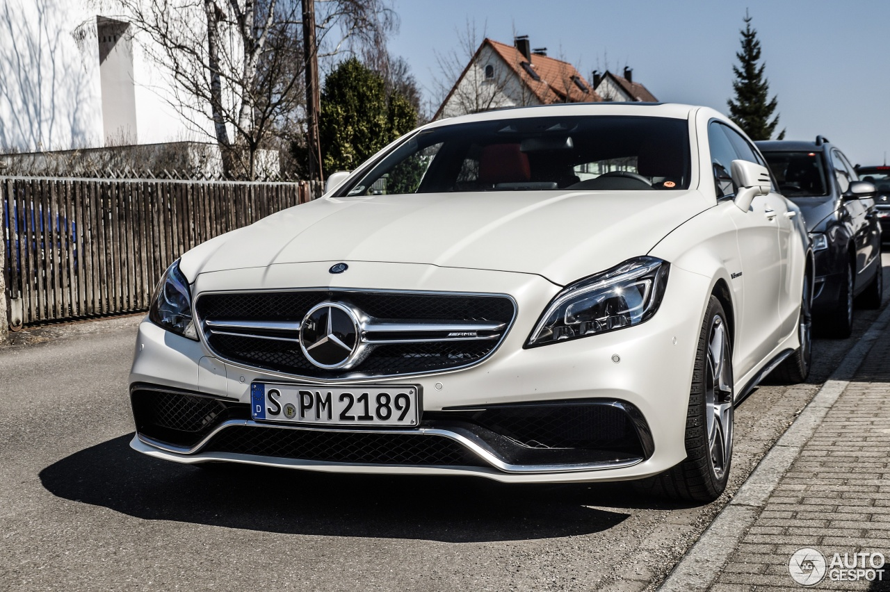 mercedes benz cls 63 amg s x218 shooting brake 2015 31 march 2015 autogespot. Black Bedroom Furniture Sets. Home Design Ideas