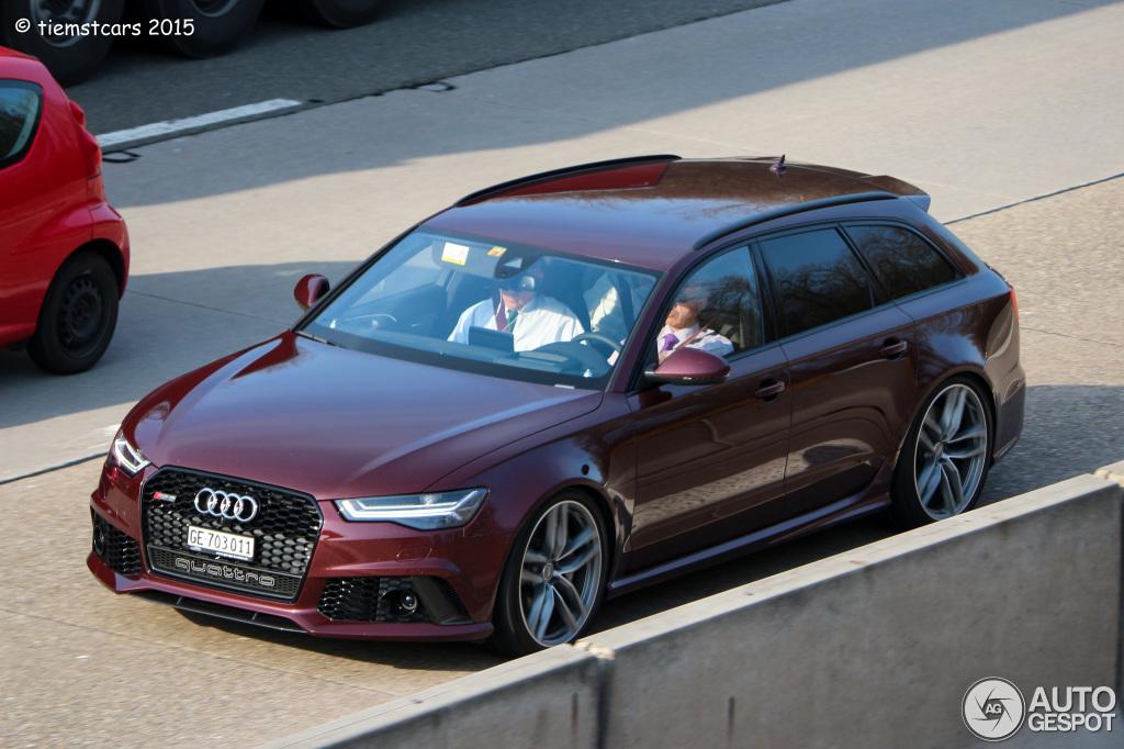 Audi Rs6 Avant C7 2015 1 April 2015 Autogespot