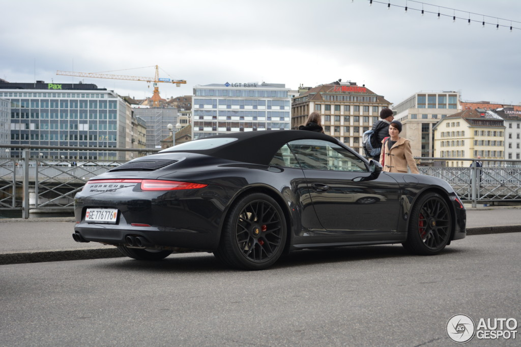 Porsche 991 Carrera 4 Gts Cabriolet 2 April 2015 Autogespot