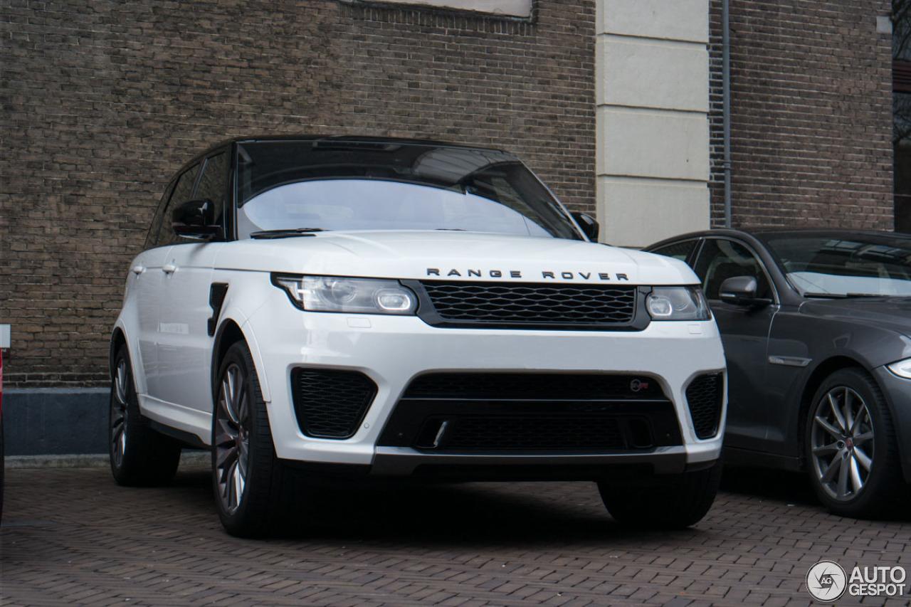 Range Rover Sport Matte >> Land Rover Range Rover Sport SVR - 3 April 2015 - Autogespot