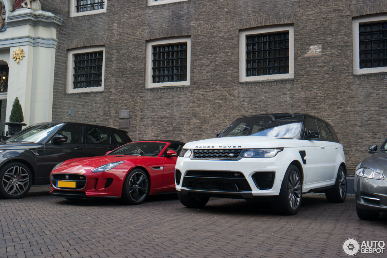 land rover range rover sport svr 3 april 2015 autogespot. Black Bedroom Furniture Sets. Home Design Ideas