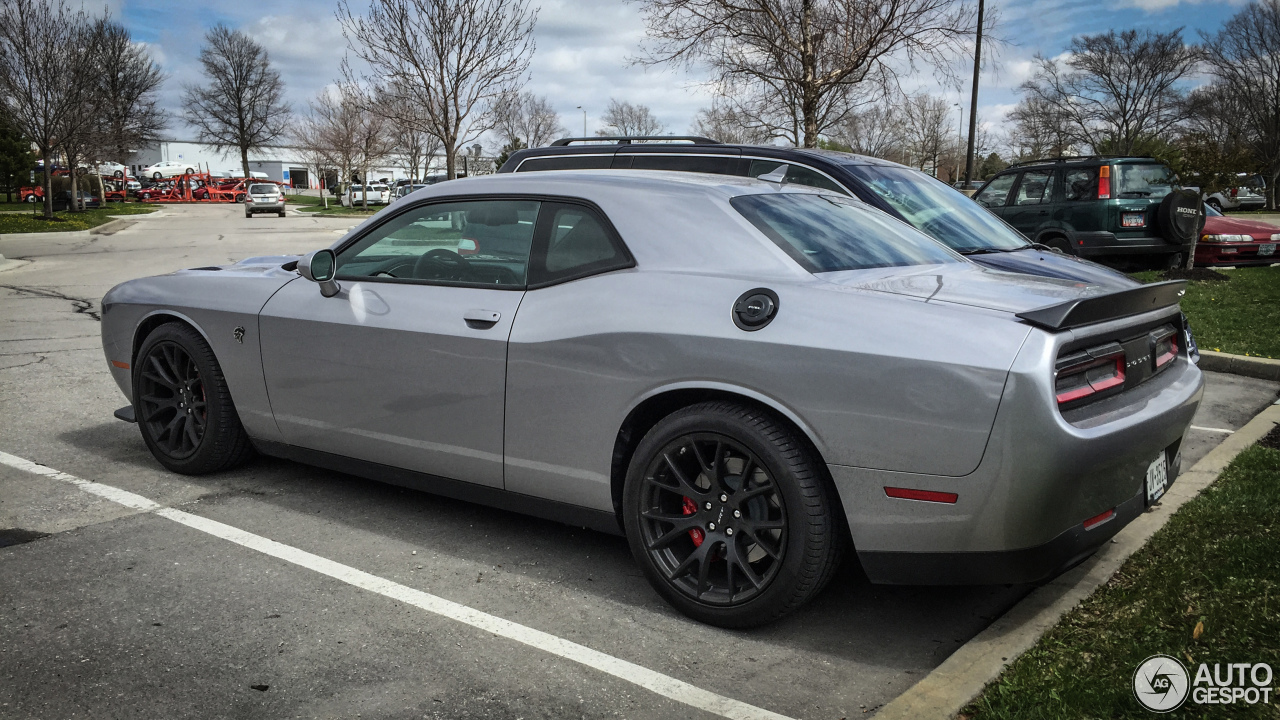 Dodge Challenger Srt 8 Hellcat 4 April 2015 Autogespot