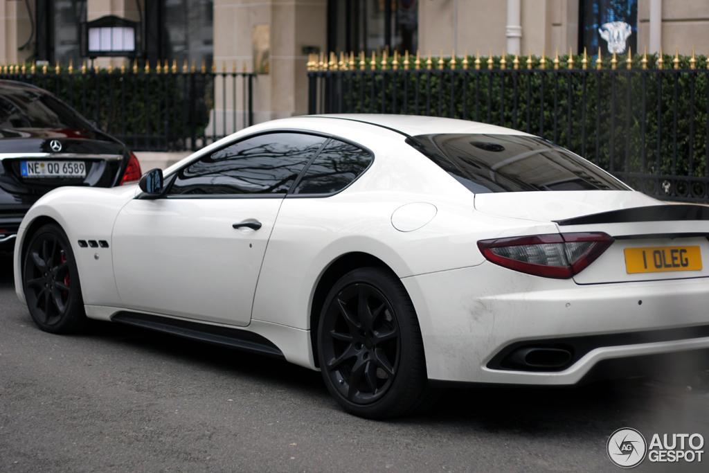 Maserati Granturismo Sport 4 April 2015 Autogespot