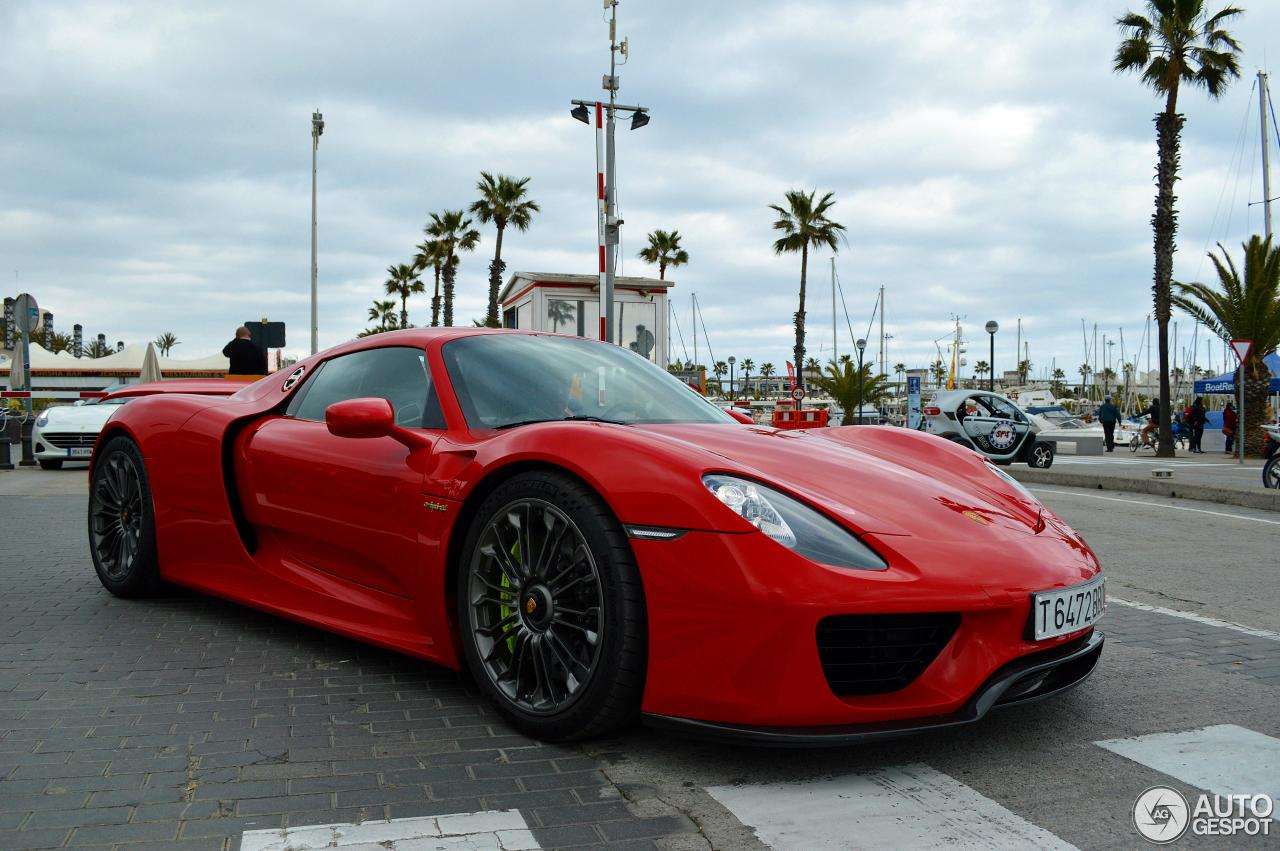 porsche 918 spyder 5 april 2015 autogespot. Black Bedroom Furniture Sets. Home Design Ideas