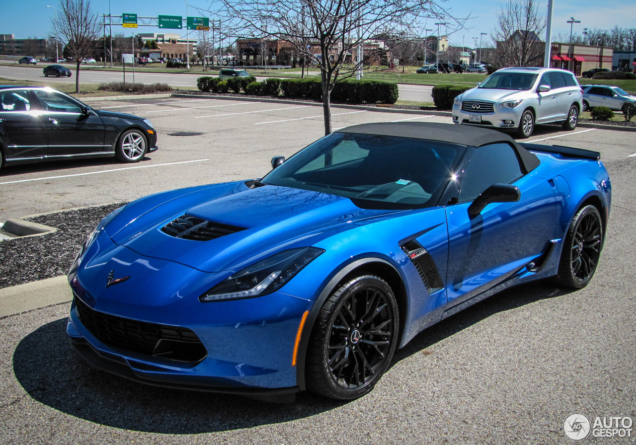 Chevrolet Corvette C7 Z06 Convertible 6 April 2015