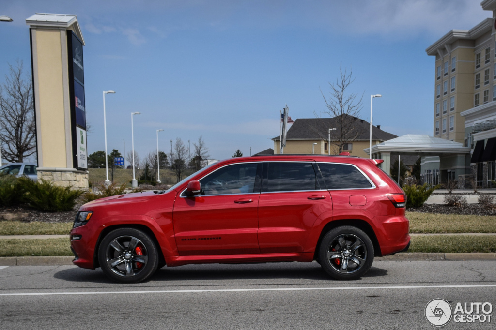 Jeep Grand Cherokee Srt 8 2014 Red Vapor Edition 6 April
