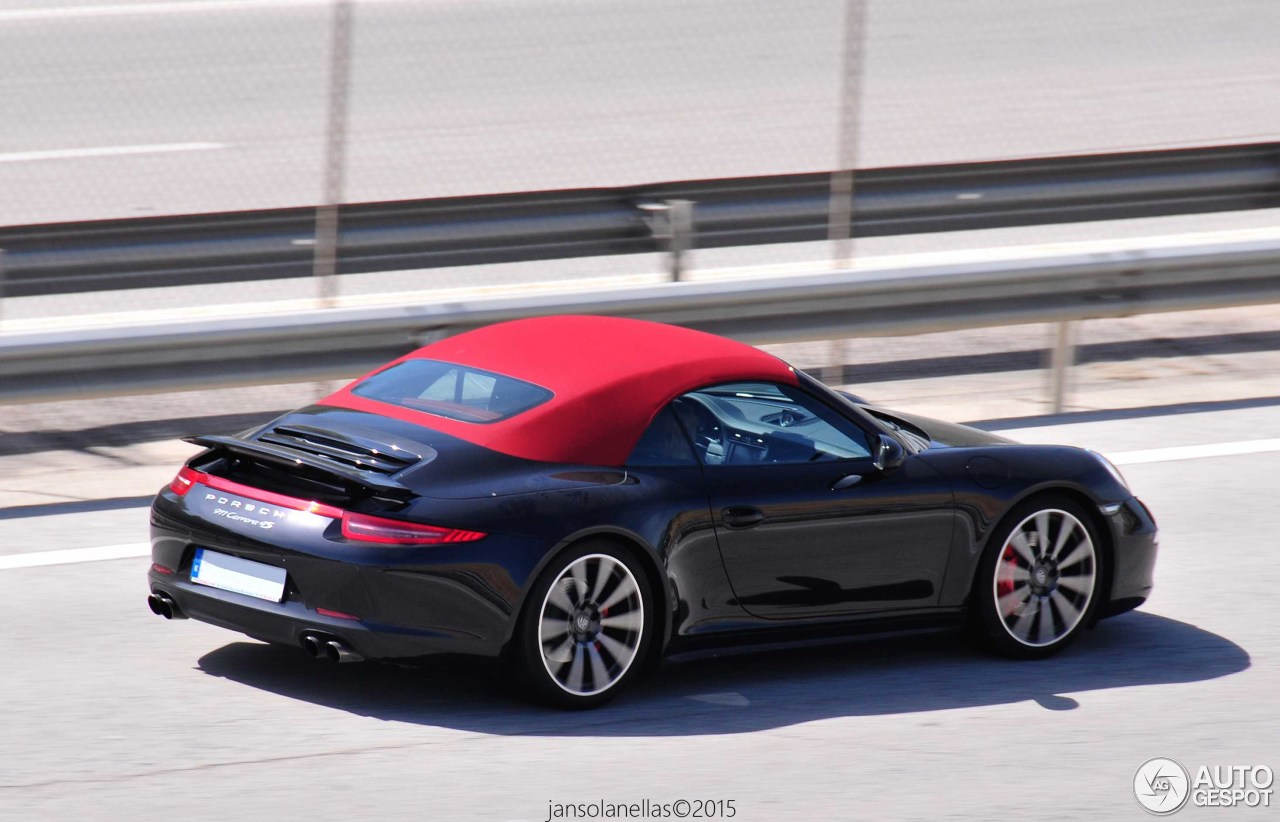 porsche 991 carrera 4s cabriolet 6 april 2015 autogespot. Black Bedroom Furniture Sets. Home Design Ideas