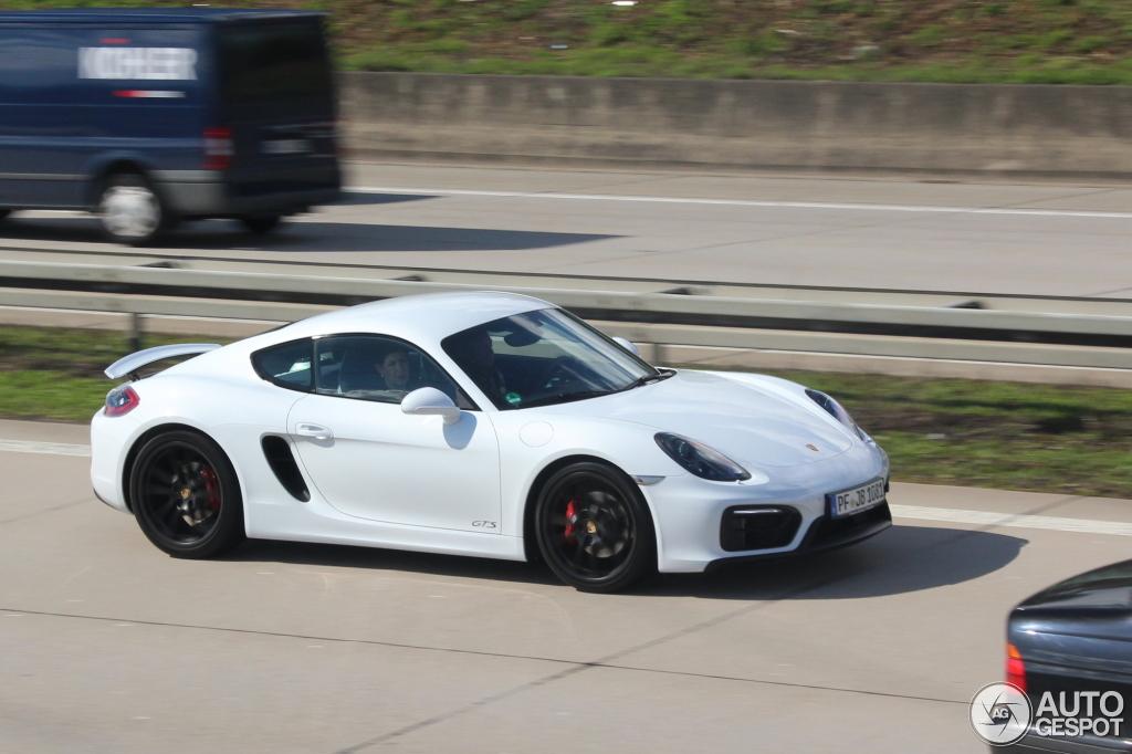Porsche 981 Cayman Gts 6 April 2015 Autogespot