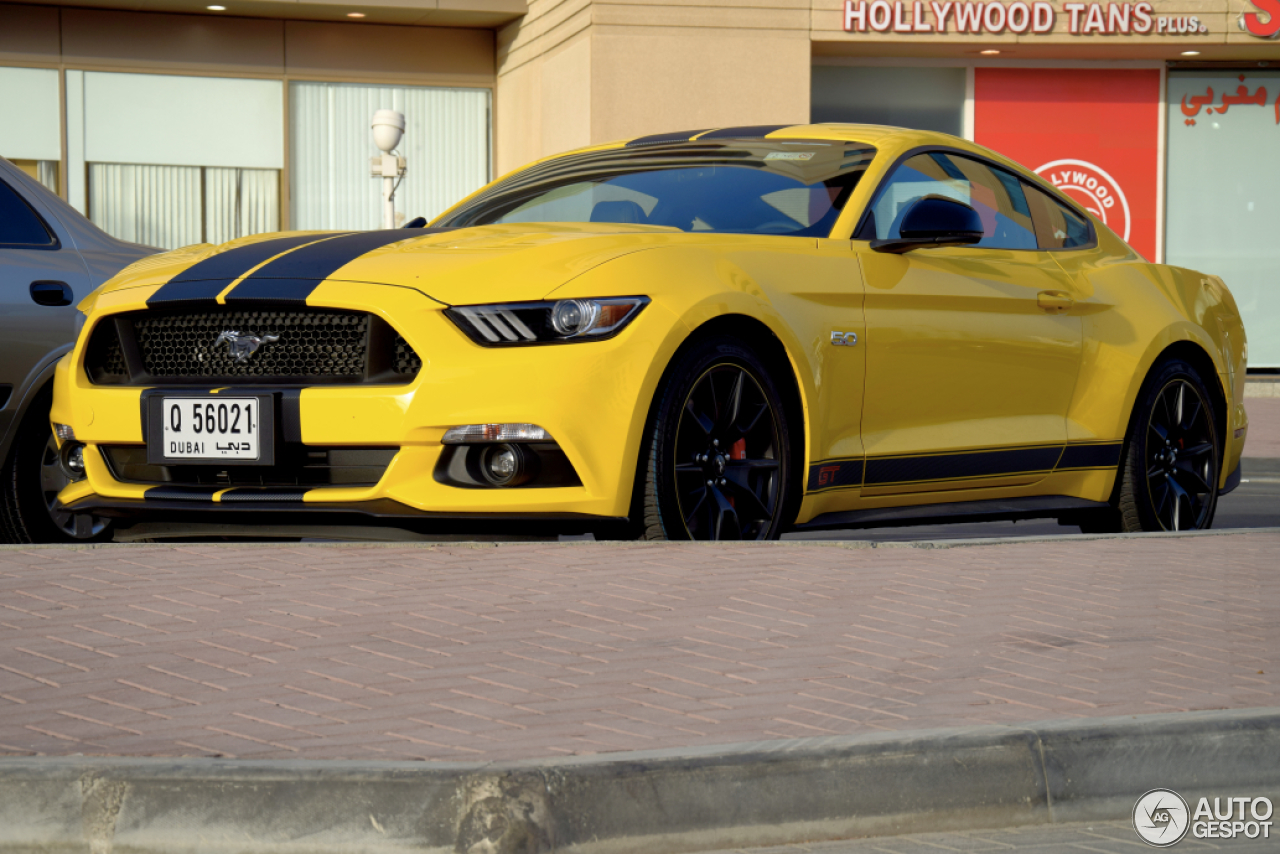 ford mustang gt 50th anniversary edition 10 april 2015 autogespot. Black Bedroom Furniture Sets. Home Design Ideas