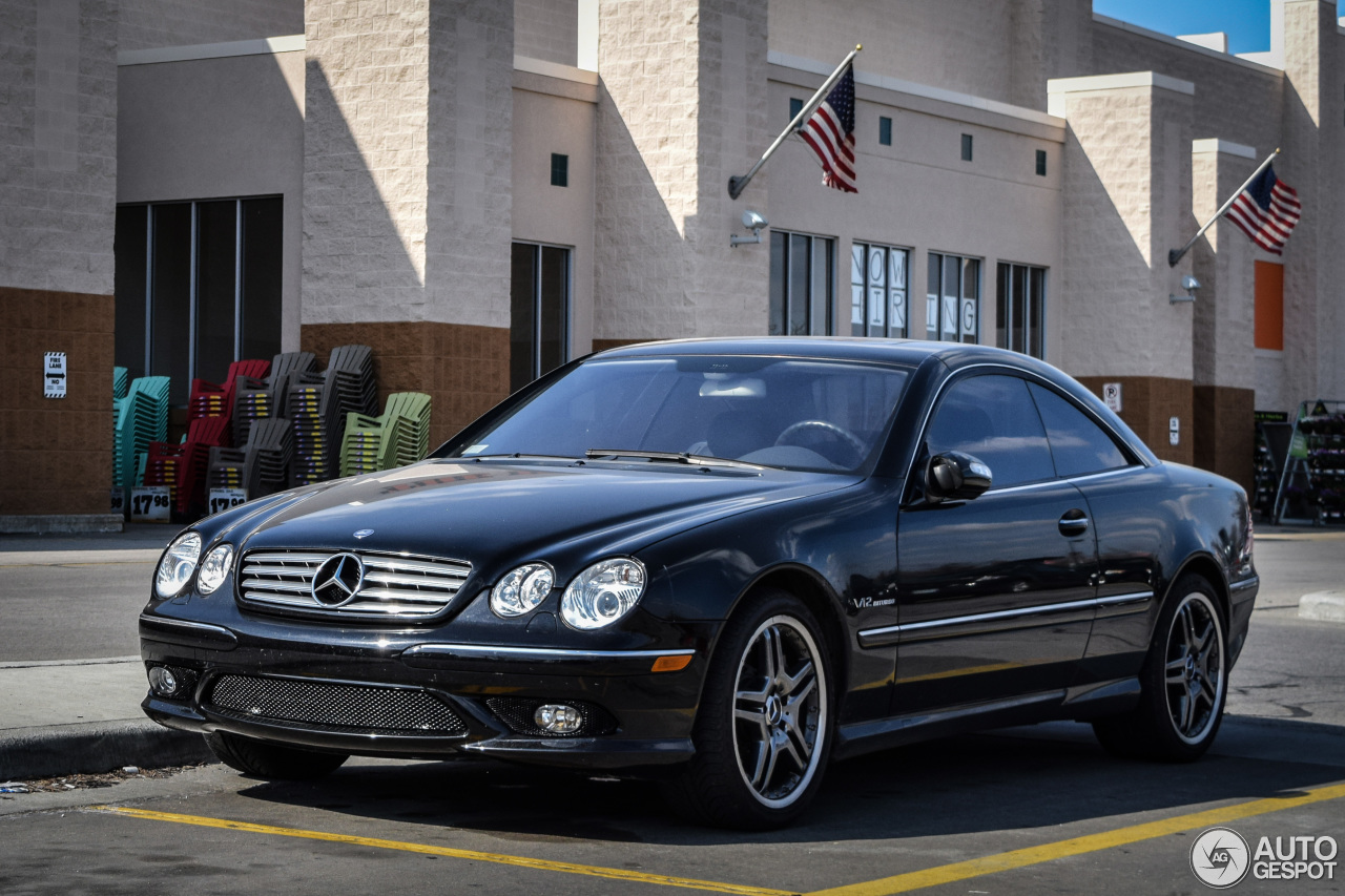 mercedes benz cl 65 amg c215 10 april 2015 autogespot. Black Bedroom Furniture Sets. Home Design Ideas