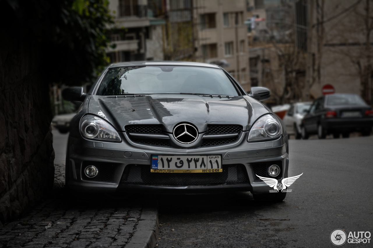 mercedes benz slk 55 amg r171 2007 10 april 2015 autogespot. Black Bedroom Furniture Sets. Home Design Ideas