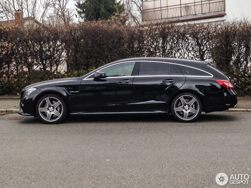 mercedes benz cls 63 amg x218 shooting brake 2015 11. Black Bedroom Furniture Sets. Home Design Ideas