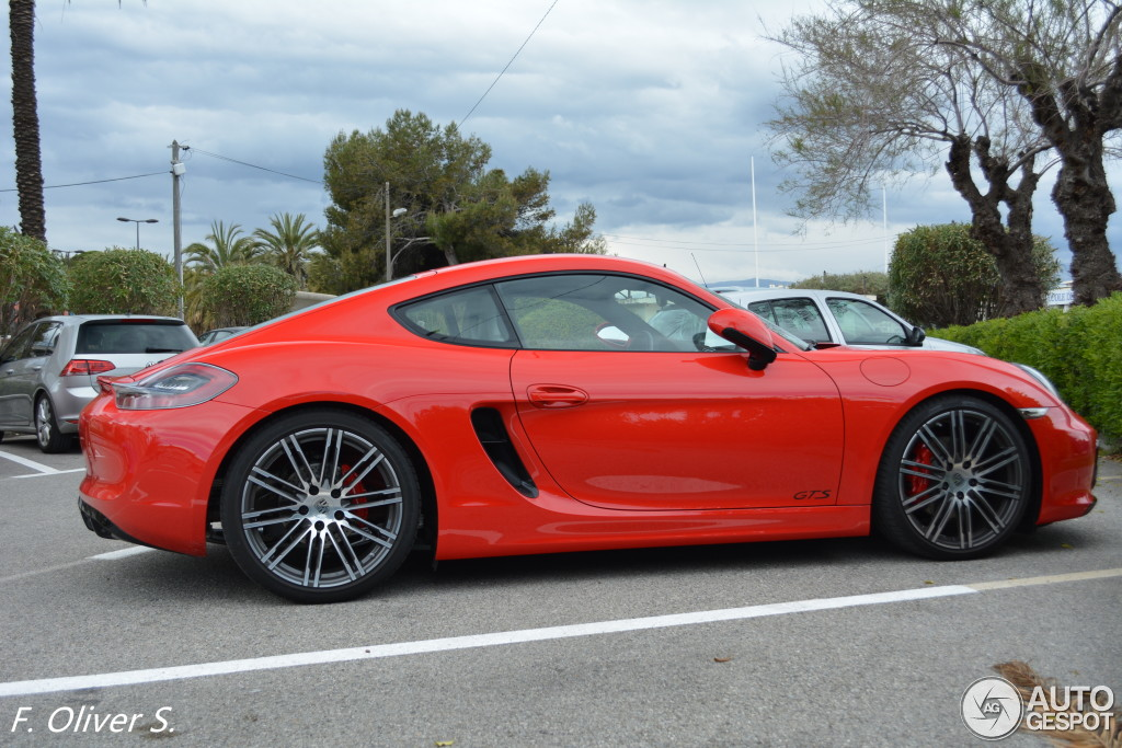 porsche 981 cayman gts 11 avril 2015 autogespot. Black Bedroom Furniture Sets. Home Design Ideas
