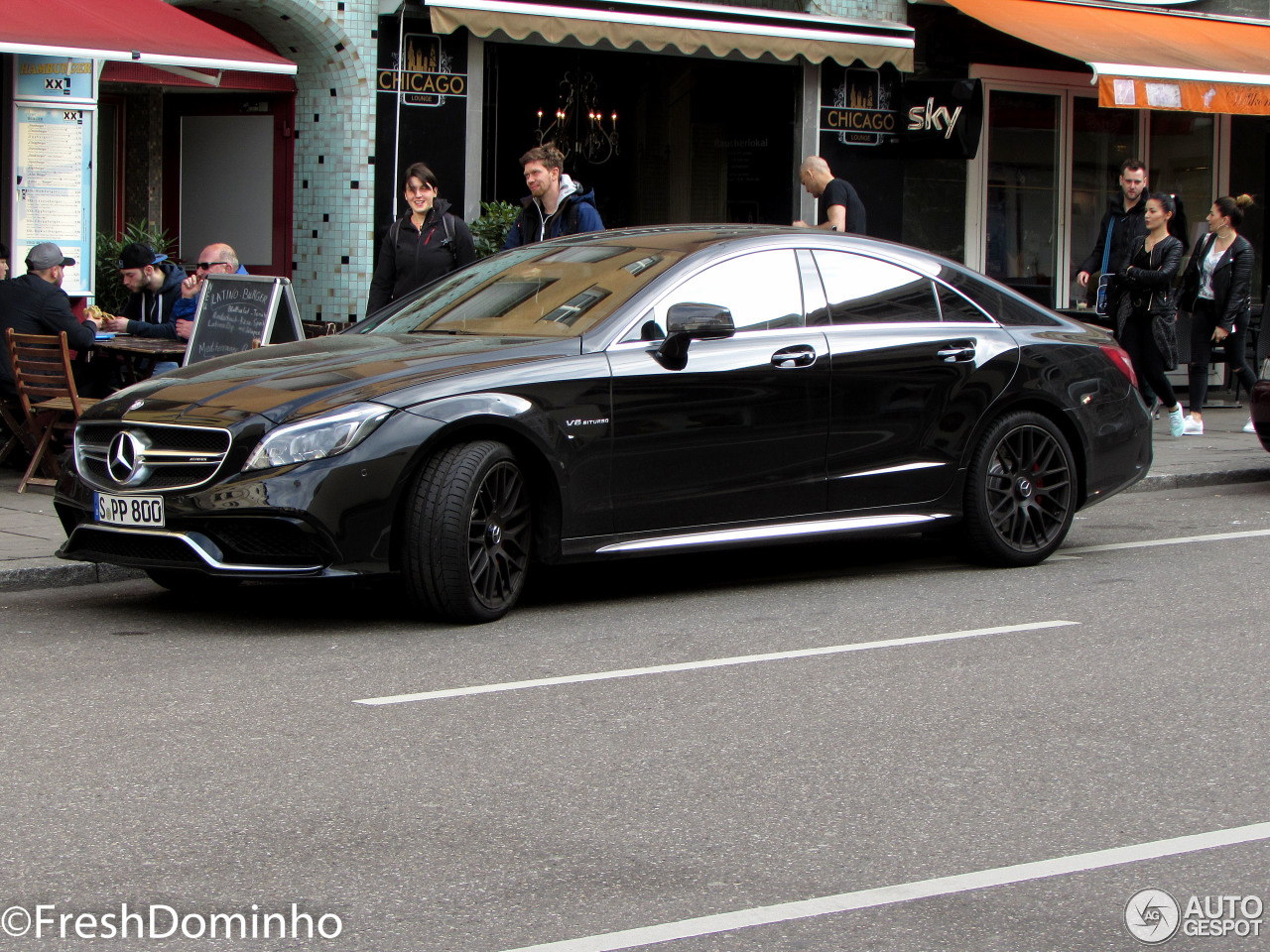 mercedes benz cls 63 amg c218 2015 12 april 2015. Black Bedroom Furniture Sets. Home Design Ideas
