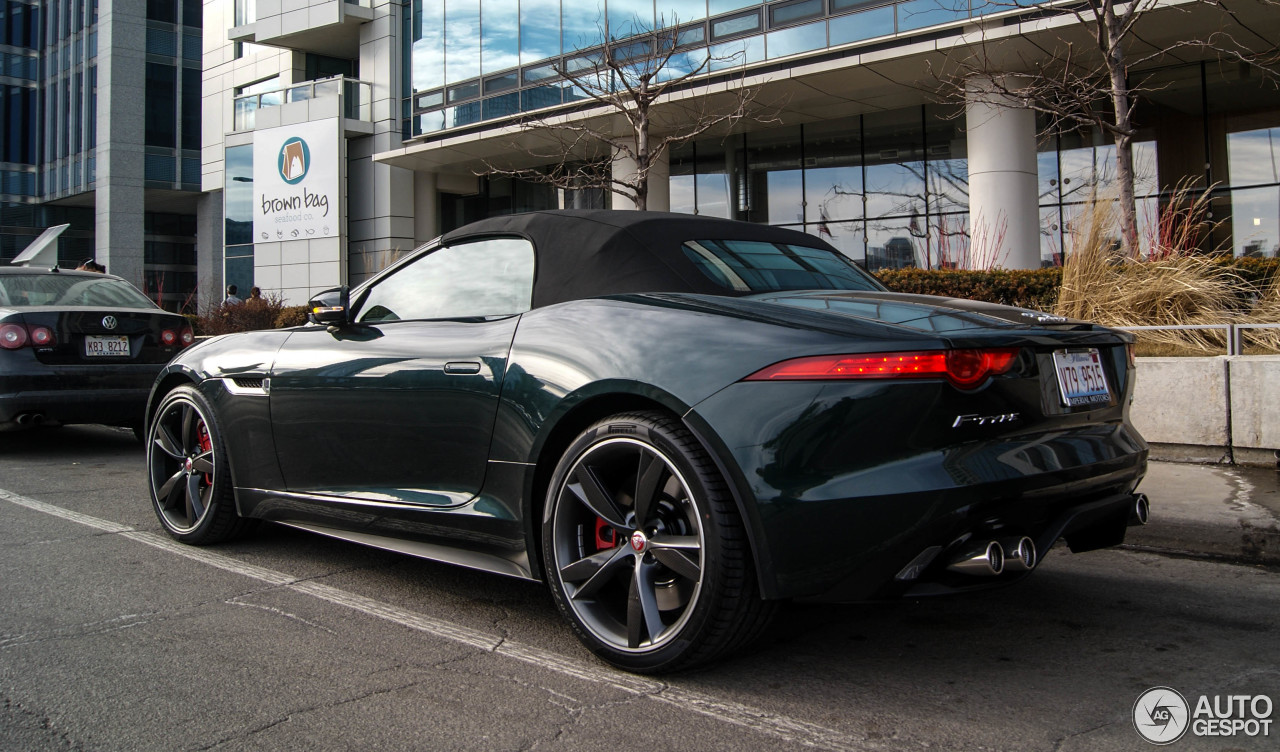 jaguar f type s v8 convertible 13 april 2015 autogespot. Black Bedroom Furniture Sets. Home Design Ideas
