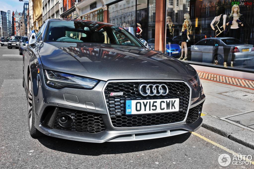 Audi Rs7 Sportback 2015 14 April 2015 Autogespot