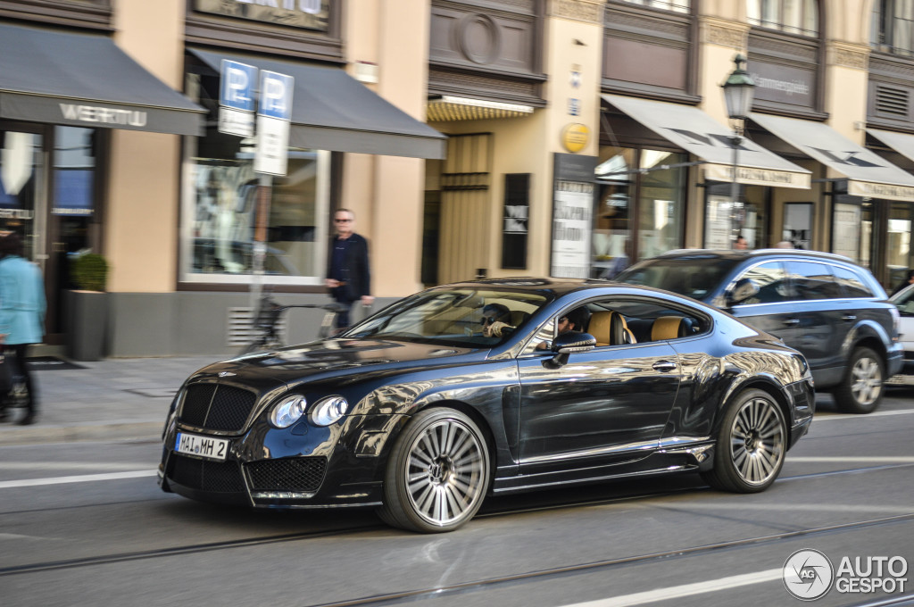 Bentley Mansory Continental Gt Speed 16 April 2015