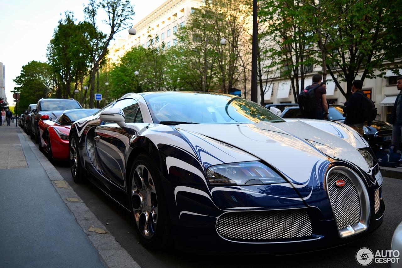 bugatti veyron 16 4 grand sport l 39 or blanc 16 avril 2015 autogespot. Black Bedroom Furniture Sets. Home Design Ideas